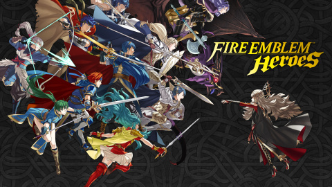 Nintendo launches its next adventure when Fire Emblem Heroes arrives soon on mobile. For detailed information about release timings by platform, please check https://fire-emblem-heroes.com/. (Graphic: Business Wire)