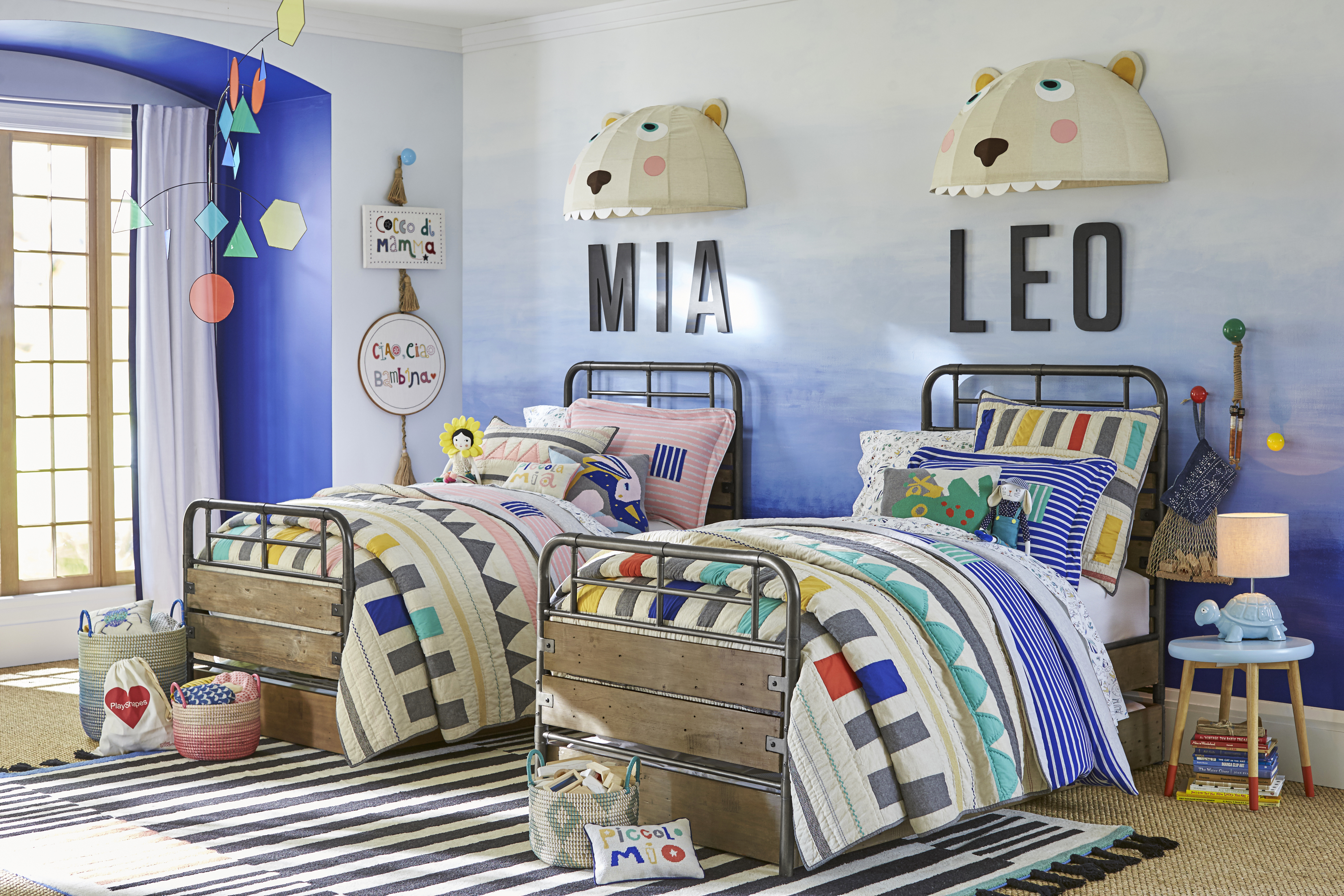POTTERY BARN KIDS DEBUTS EXCLUSIVE COLLABORATION WITH DESIGNER MARGHERITA MACCAPANI MISSONI AMOS