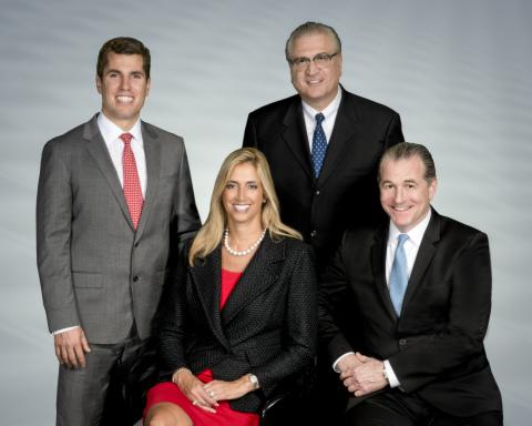 From left: Clark Appleby, Elyssa Kupferberg, Barry Widelitz, Joel Yudenfreund (Photo: Business Wire)