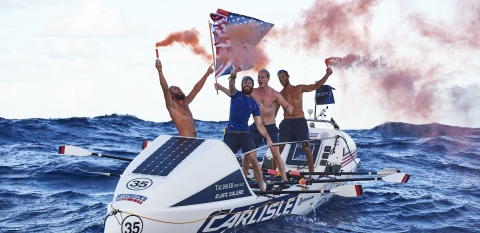 Carlisle's American Spirit crosses the finish line in the Talisker Atlantic Challenge shattering all ...