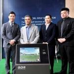 GOLFZON Donates Golf Practice Simulators to National Golf Team of Taiwan