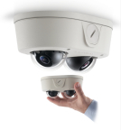 Arecont Vision MicroDome Duo views 2 directions at once in a tiny dual-dome megapixel camera. (Photo: Business Wire)
