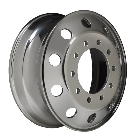 Popular Accuride 22.5 x 8.25 aluminum wheel now weighs just 40 lbs. with Quantum 99 alloy. (Photo: Business Wire)