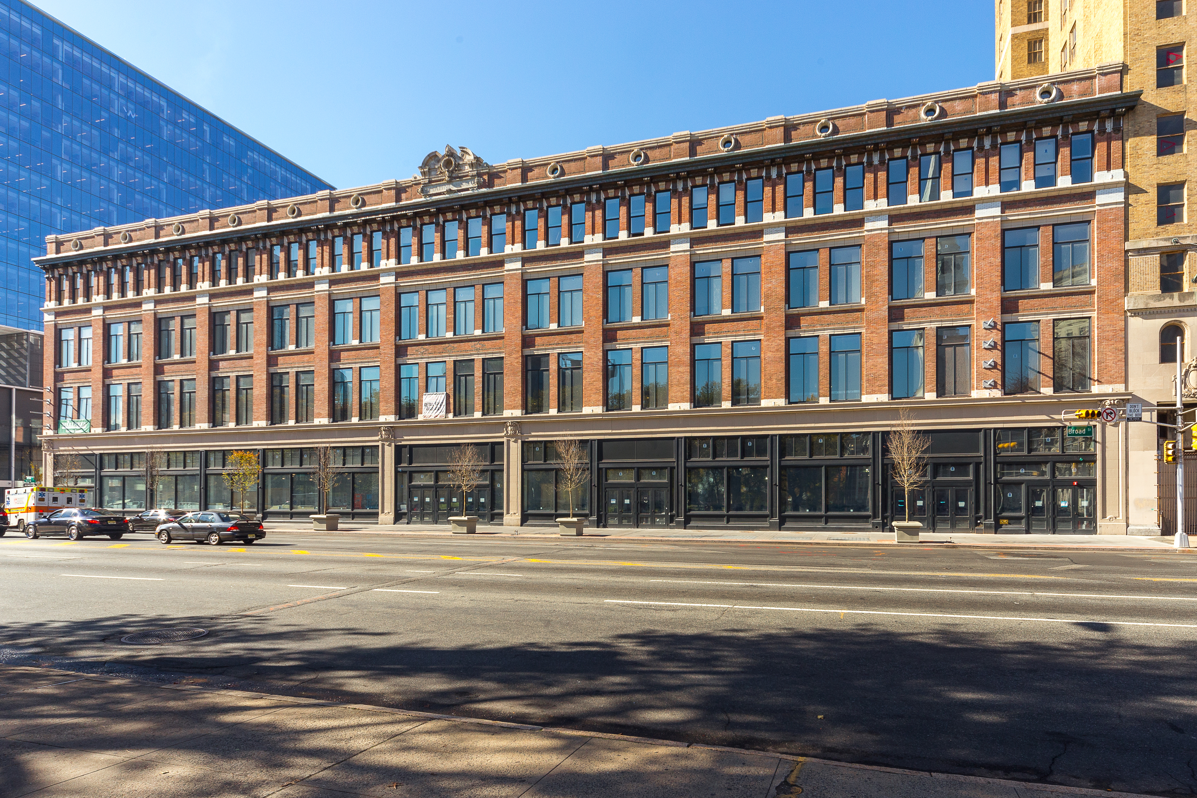 The Hahne & Co. building on Broad Street in Newark, N.J., reopened on Jan. 23 following a $174 million redevelopment project from joint venture partners Prudential Financial, Inc., and L+M Development. (Photo credit: Sylvester Zawadzki)