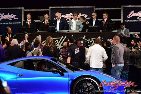 Grammy award-winning singer and songwriter Justin Bieber auctioned his 2011 Ferrari 458 Italia F1 Ed ...