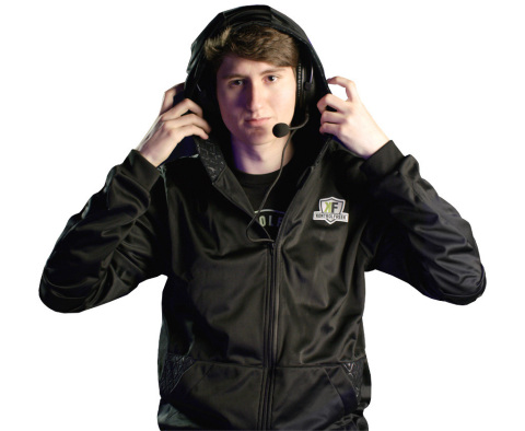 KontrolFreek's Icon Performance Gaming Hoodie features an oversized hood to accommodate headphones w ...