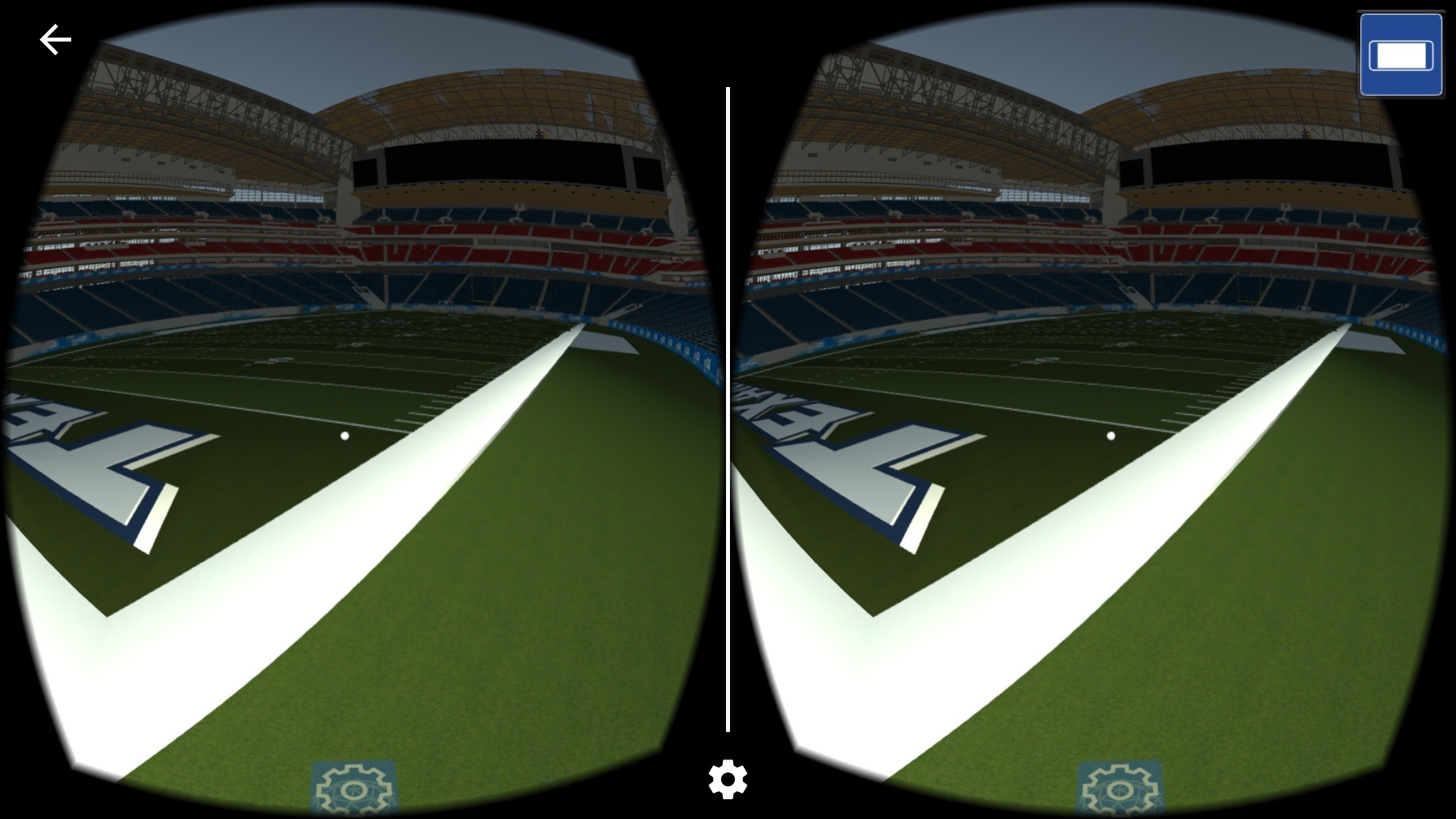 vCAD app users can walk on the Super Bowl LI field and get a view from any seat in the stadium, all in virtual reality. (Photo: Business Wire)