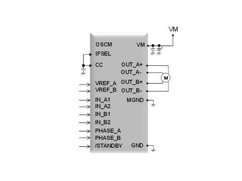 Example Application Circuit (Graphic: Business Wire)