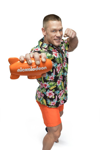 John Cena, host of the 2017 Kids' Choice Awards on Nickelodeon. Photo: Justin Stephens/Nickelodeon. 2017 Viacom International Inc. All Rights Reserved.