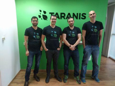The Taranis founders. (Photo: Taranis)