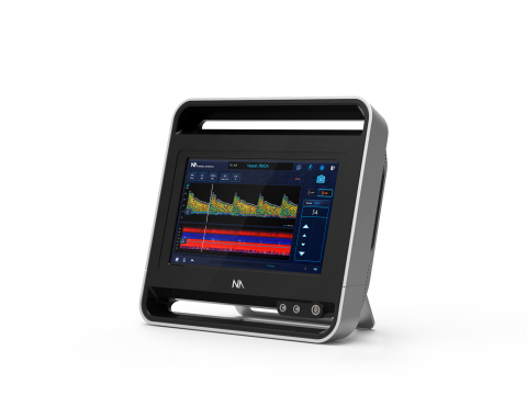 The Lucid M1 Transcranial Doppler Ultrasound System™ (Photo: Business Wire)