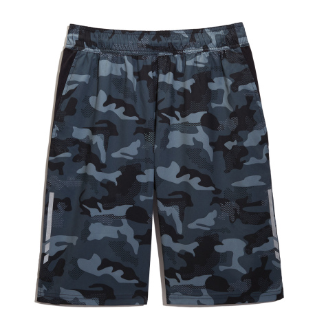 Ideology activewear expands into men's with ID Ideology, exclusively at Macy's and on macys.com; camo shorts, $40 (Photo: Business Wire)