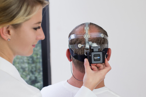 Advanced Brain Monitoring's Stat X24 for awake EEG assessment. (Photo: Business Wire)