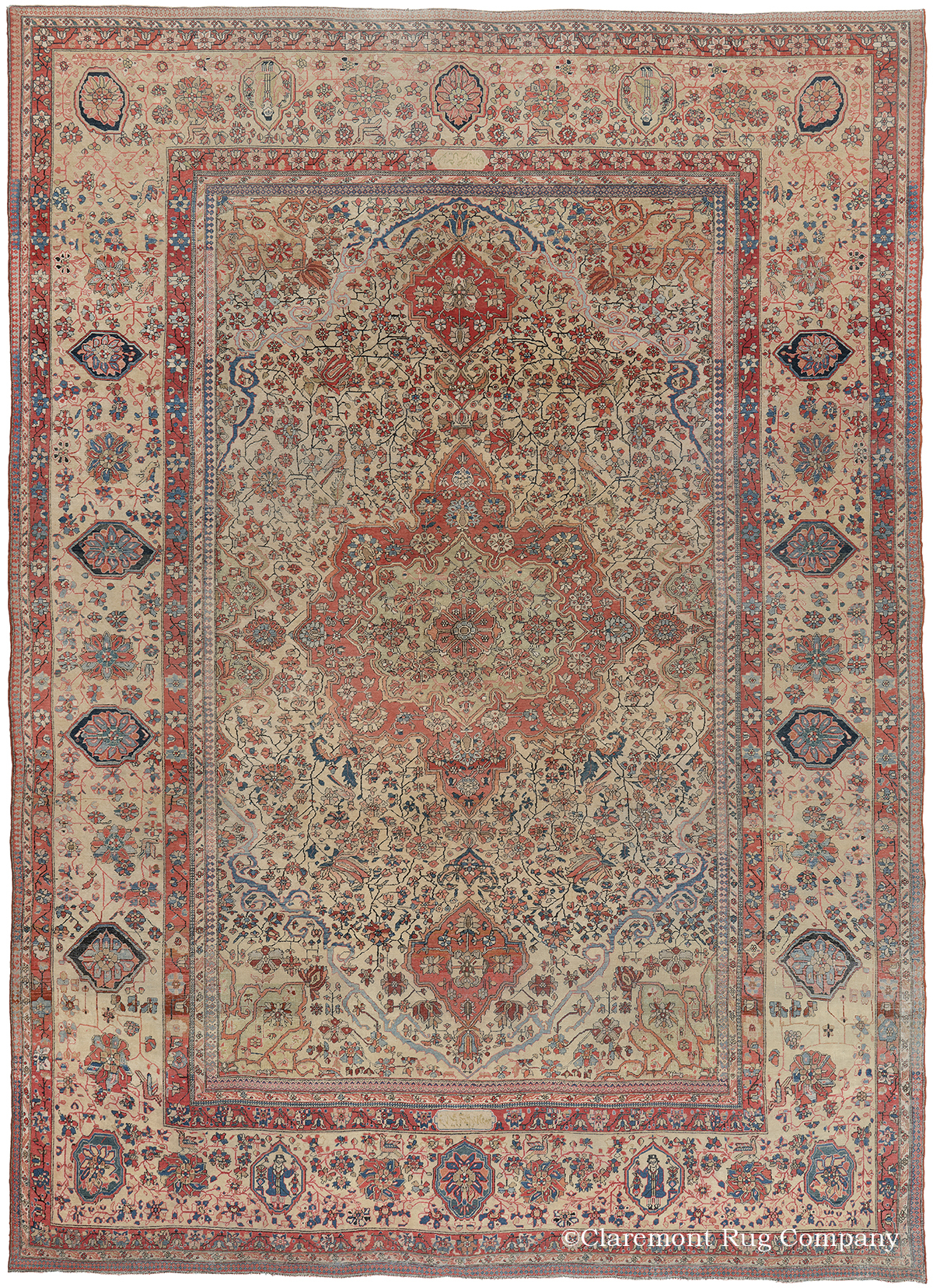 Claremont Rug Company Names 50 Best Of The Antique Oriental Rugs Sold In 2016 With Online Gallery Exhibition Business Wire