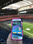 T-Mobile's Speed test Results in NRG Stadium (Photo: Business Wire)