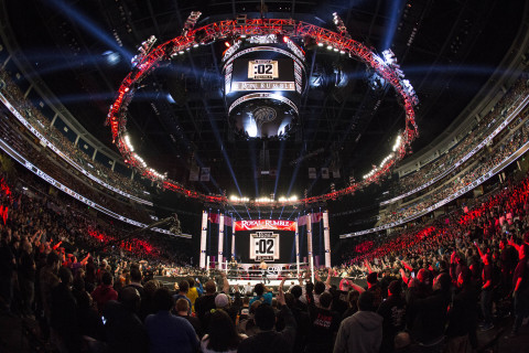 WWE Royal Rumble (Photo: Business Wire)
