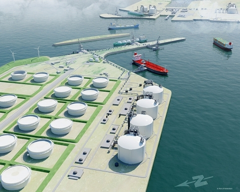 AG&P will design and build all the required facilities for the LNG import terminal including a floating storage and mooring system, regasification terminal, related utilities for the provision of tolled gas to power plants and other users (Photo: Business Wire)