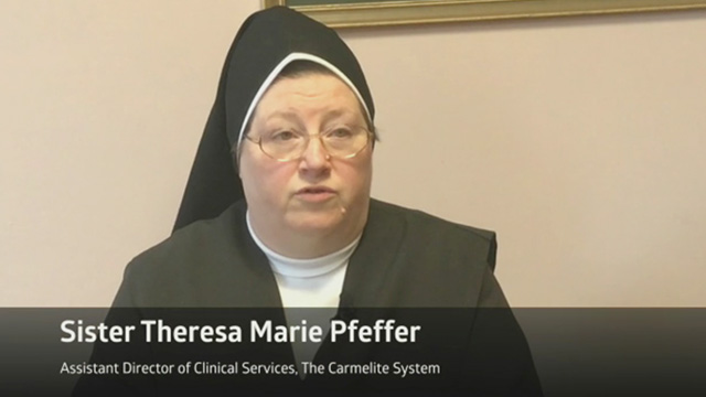 Sister Theresa Pfeffer of St. Patrick's Home for the Aged in New York explains why high quality care must come first when caring for residents. Medline helped implement a tailored, online staff training program called INTERACT eCurriculum to help reduce readmissions and improve quality of care. This collaboration with Medline led to 100 percent staff completion and proficiency in less than one year.
