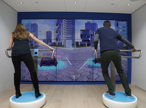 FordHub, located in one of New York's busiest transportation centers – Westfield World Trade Center – is an interactive space designed to show the public how Ford's expansion to an auto and a mobility company is helping change the way the world moves. FordHub is designed to inspire visitors – whether they own or intend to own a Ford vehicle or not – to think about the future of transportation in an entirely new way by encouraging imagination and dialogue. (Photo: Business Wire)