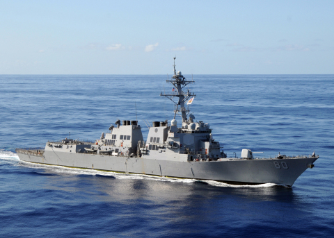 BAE Systems will maintain and modernize the USS Roosevelt (DDG 80), an Arleigh Burke-class guided mi ...
