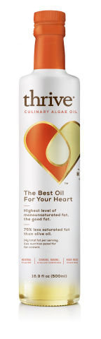 Thrive® Culinary Algae Oil (Photo: Business Wire)