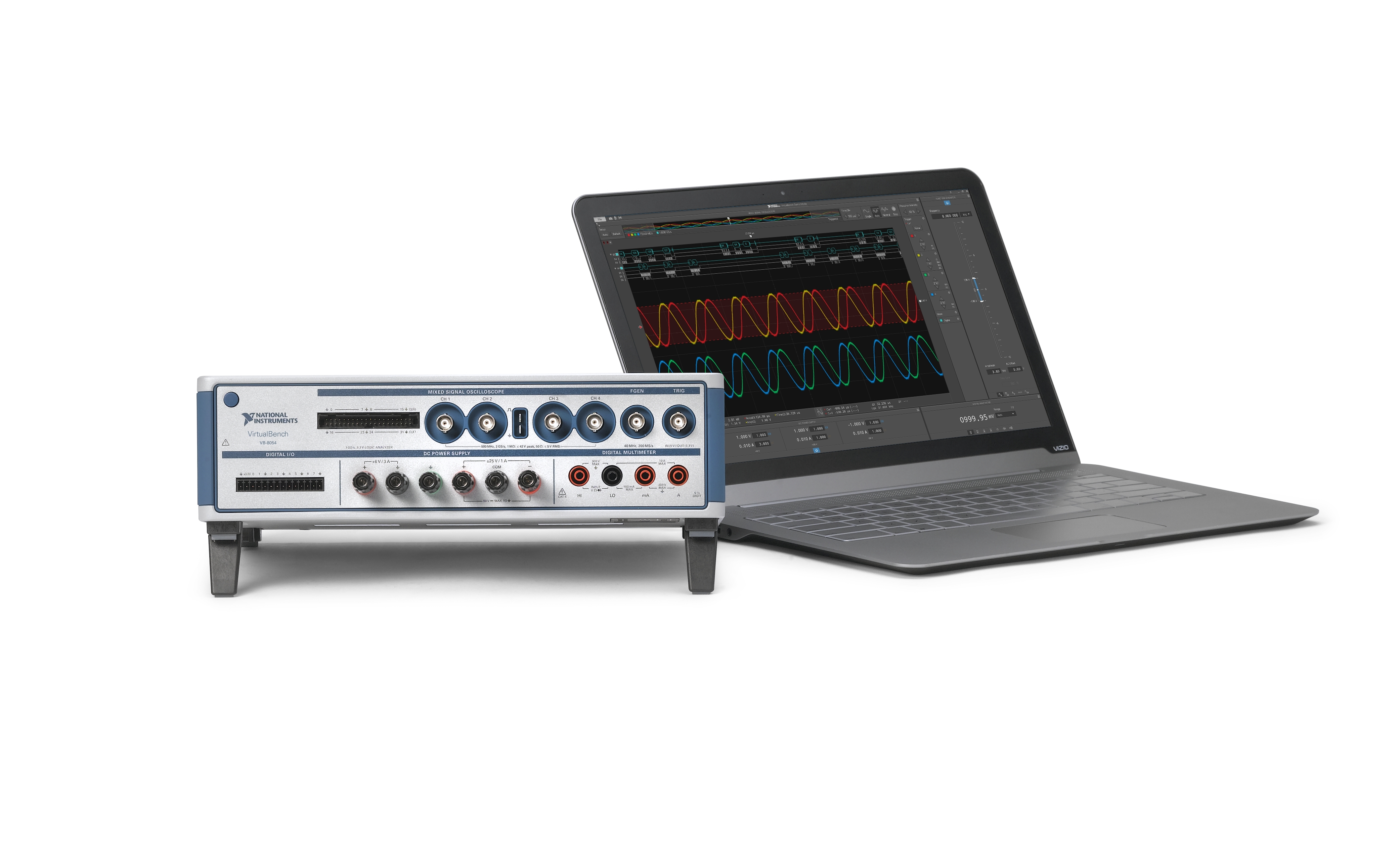 NI Upgrades Oscilloscope and Function Generator Performance for