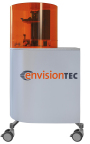 EnvisionTEC is celebrating its 15th year as a 3D printer manufacturer, with a new look for its brand, shown here on its flagship Perfactory 3D printer, now in its fourth generation. (Photo: Business Wire)