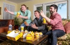Share your epic Bojangles' game-day celebration for your chance to win free Bojangles' for a Year* (Photo: Bojangles')