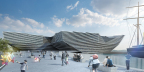 V&A Museum of Design Dundee Credits Kengo Kuma & Associates (Photo: Dassault Systèmes)