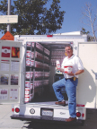 R.L. Schreiber Distributor with fully stocked van ready to deliver! (Photo: Business Wire)