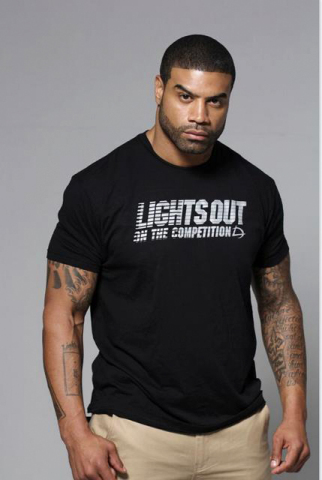"""Shawne Merriman says """"LIGHTS OUT On the Competition"""" (Photo: Business Wire)."""