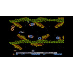 To save the planet in Gradius, you must deploy the hyperspace fighter Vic Viper to fight the Bacterion invasion. Pilot the Vic Viper through seven stages, shooting and dodging through deadly obstacles, while using various power-ups, including missiles, lasers, options and shields. (Graphic: Business Wire)