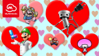 Valentine's Day is coming up! Reward yourself or a loved one with discount rewards on digital games featuring the characters you love, as well as multiplayer games you can play together. (Graphic: Business Wire)