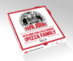 """Papa John's unveils new logo, pizza box, and TV spots to support """"Pizza Family"""" brand campaign. (Photo: Business Wire)"""