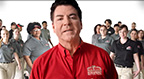 """Papa John's unveils new logo, pizza box, and TV spots to support """"Pizza Family"""" brand campaign."""