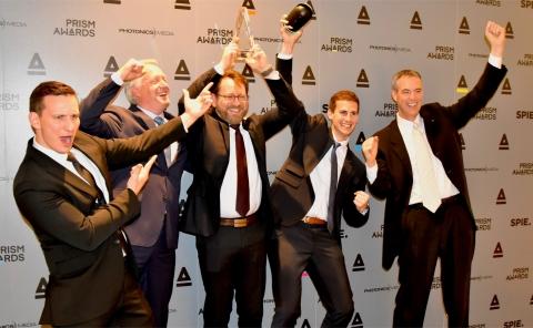 Leica Geosystems Wins Prestigious PRISM Award from SPIE (Photo: Business Wire).