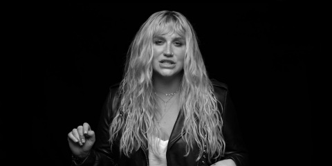 A public service announcement featuring recording artist Kesha illustrates the prevalence and severi ...