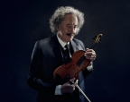 Geoffrey Rush as Albert Einstein Credit: National Geographic