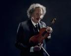 Geoffrey Rush as Albert Einstein Credit: National Geographic