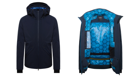 Colmar's new Technologic G+ ski jacket, which is padded with wadding enhanced by Directa Plus' graphene-based products, has been selected as a Gold Winner at ISPO Munich