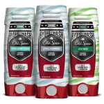 New Old Spice Hydro Wash in Steel Courage, Live Wire, and Pure Sport Plus (Photo: Business Wire)