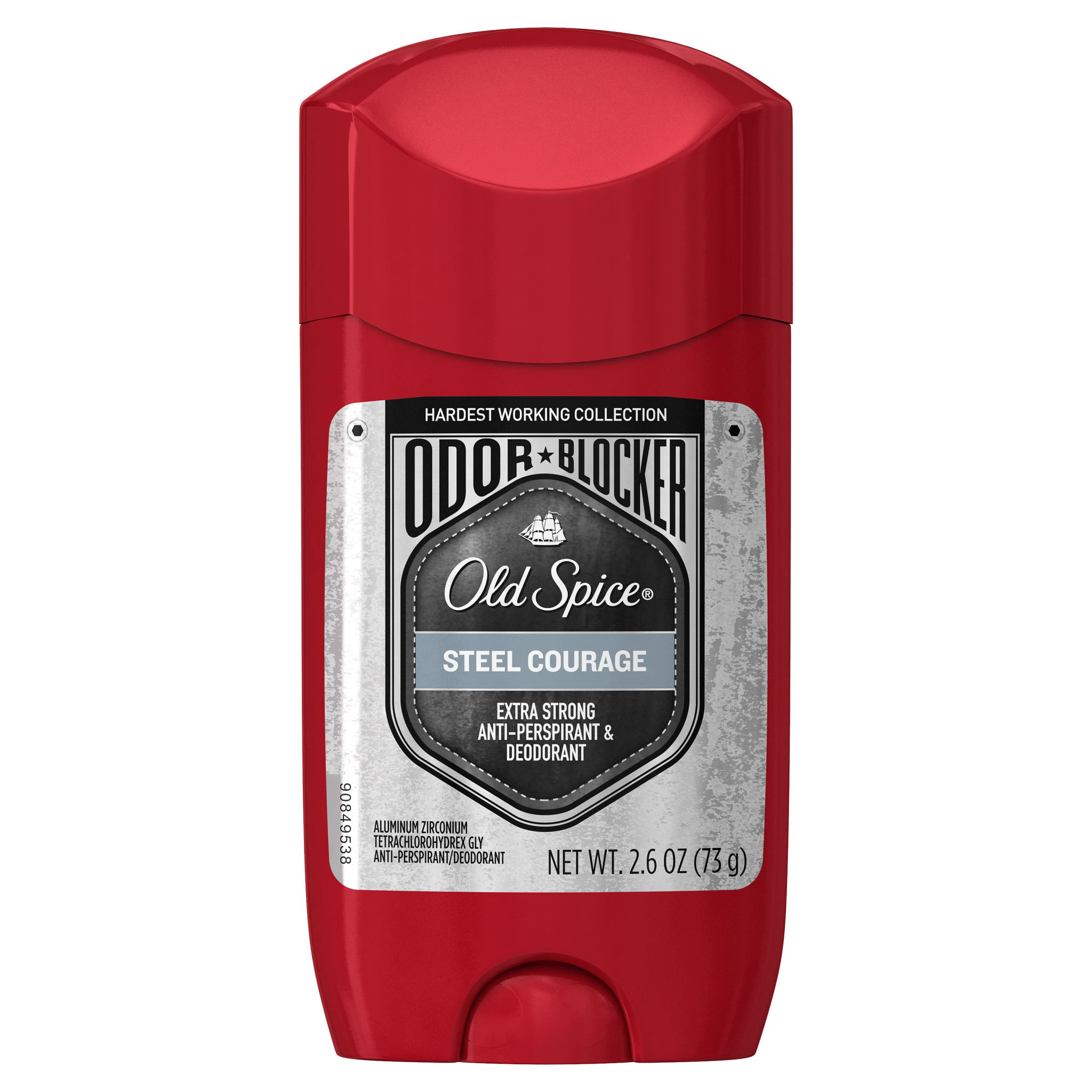 Old Spice Odor Blocker Anti-Perspirant in new Steel Courage Scent (Photo: Business Wire)