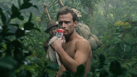 """Jungle Hero"" spot still from the new Old Spice ""Don't Smell Yourself Short"" campaign - featuring the Hardest Working Collection, Old Spice's highest-performing anti-perspirants and body washes in the world. (Photo: Business Wire)"