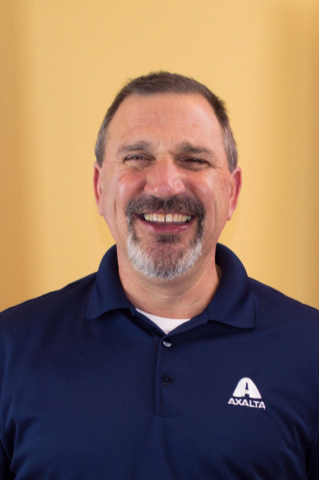 Mike Withers, Axalta Architectural Segment Leader-North America presented a technical session on powder coating at FENCETECH 2017 in San Antonio, Texas. (Photo: Axalta)