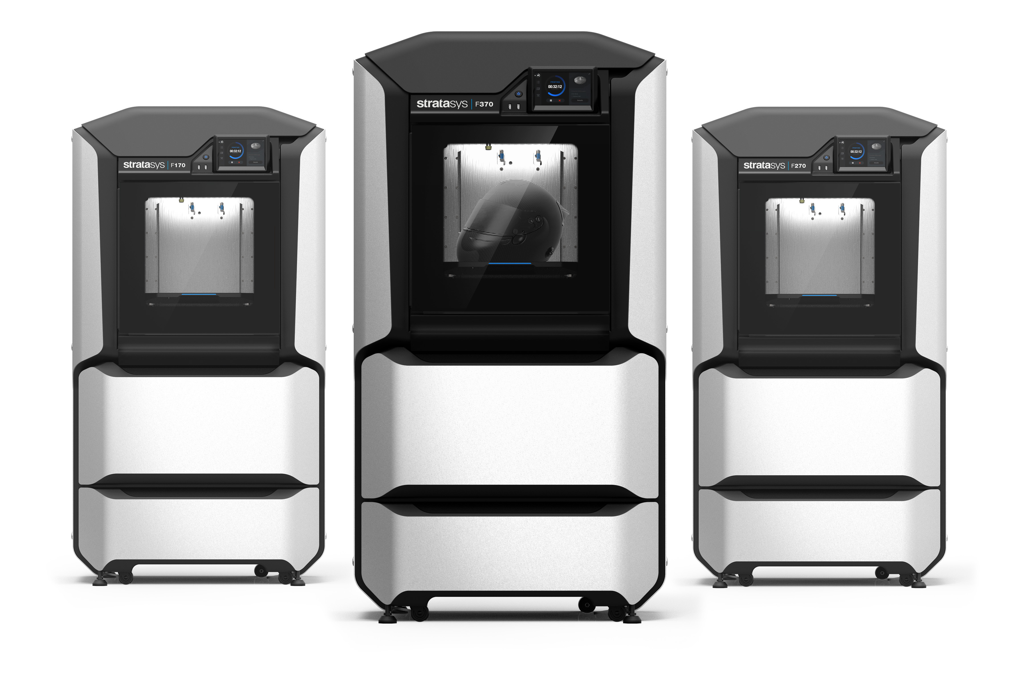 The new Stratasys F123 Series combines an enhanced user experience with engineering-grade quality to address the end-to-end rapid prototyping workflow. (Photo: Business Wire)