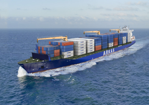 Orange Business Services integrates Arkas' fleet of ships and international offices through hybrid network. (Photo: Business Wire)