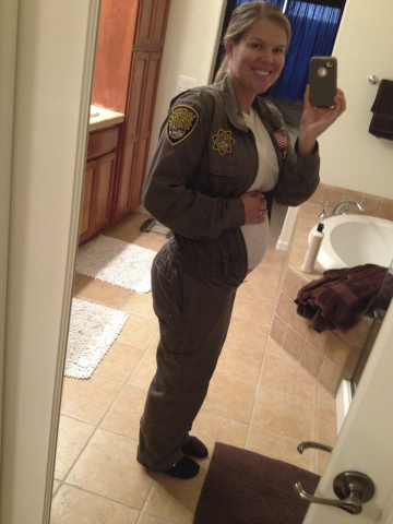 Officer Amanda Van Fleet, pictured above, is a San Luis Obispo native and graduate of Cal Poly San Luis Obispo.  She alleges that the California Department of Corrections and Rehabilitation discriminated against her because of her pregnancy and the moderate restrictions placed on her work by her doctor. (Photo: Business Wire)