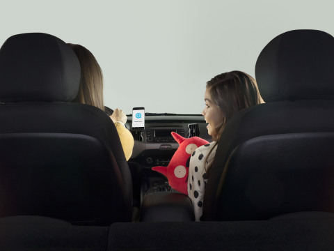 Logitech ZeroTouch brings Amazon Alexa to the car (Photo: Business Wire)