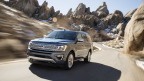 For today's active families, Ford introduces the all-new Expedition - the smartest, most capable and most adaptable Expedition ever - with technology to keep every passenger connected, more power for drivers, and more expected towing capability than any other full-size SUV. (Photo: Business Wire)