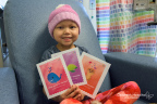 Go to www.chla.org/Valentine to select and send a personalized Valentine's Day card to a patient. (Photo: Business Wire)